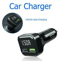 2 Dual Port USB Fast Car Charger Qualcomm Quick Charge QC 3.0 For iPhone Samsung
