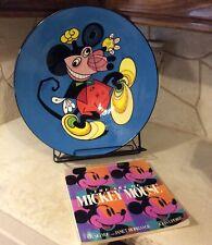 Ward Kimball Mickey Mouse Plate/Book