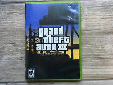 New listing Grand Theft Auto Iii - Original Xbox - Complete Cib Fast Shipping!