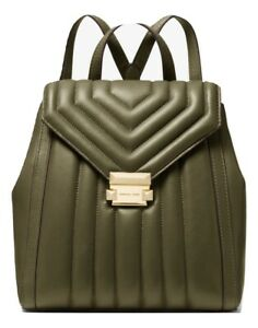 MICHAEL MICHAEL KORS Whitney Quilted Leather Backpack MSRP: $358.00