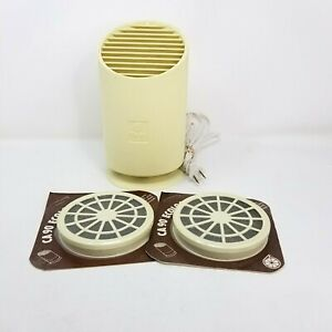 Vtg Ecologizer Table Top Air Treatment System 2 New Replacement Filters Tested