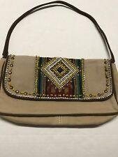 Mare Sole Women's Handbag Amore Iviza Camel Clutch Handbag NWT