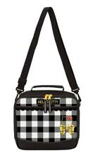 Hello Kitty Black Check Gingham Insulated Lunch Bag