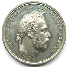 [R54] Medaille 1872, Schweden, Karl XV. (1859-1872)