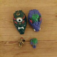 Mini Pocket Beast Monster Mighty Max Ko toy horror playset MIMP Vintage 90s