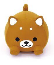 MOGU Mogucci Bow-wow DOG Beads Cushion Brown (CHA) FREE SHIPPING JAPAN