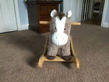Pottery Barn Horse Plush Nursery Rocker