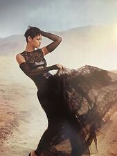 Rihanna 12pg + cover VOGUE magazine feature, clippings