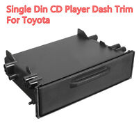 Universal Single Din Car CD Player Radio Stereo Dash Trim Storage Pocket Box Kit
