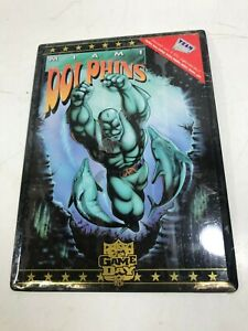 Miami Dolphins Football Plaque 8 x 11 Super Hero NFL Game Day Team Metal