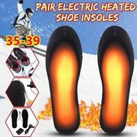 Beheizbare Einlegesohlen Thermosohlen Schuhheizung mit USB Leitung Gr. 35-44
