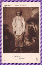 Carte Postale - J.A. WATTEAU - GILLES
