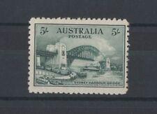 1932 Australia 5/- Sydney Harbour Bridge SG 143 mlh rare