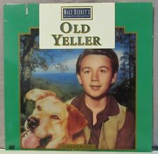 Disney's Old Yeller Laserdisc Chuck Connors