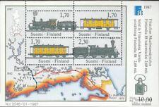 Finland Blok 3 postfris 1987 FINLANDIA`88 Postbezorging
