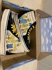 Vans X The Simpsons Sk8-Hi 1987-2020 Shoes Size 9.5 Men's 11 Women's New w/ Box