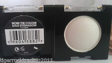 Eyeshadow work the colour Mono solo by Collection WHITE GOLD BLACK & MORE !