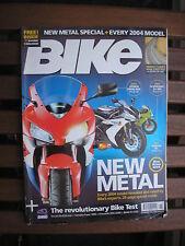 BIKE MAGAZINE NOVEMBER  2003