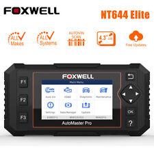 Foxwell NT644 Elite Full System Car OBD2 Scanner Diagnostic Tool DPF TPMS EPB US