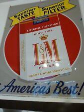 L&M Filter Cigarette Advertising Sign