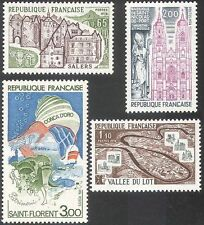 France Architecture Postal Stamps