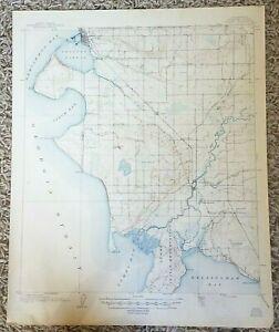 1947 Blaine Quadrangle Whatcom Co Washington WA USGS 15-Minute Topo Vtg Map