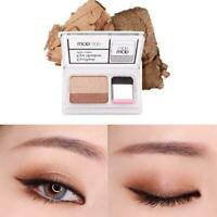 Easy To Use Eye Shadow Beginner Double Color Gradient Shadow Disk Freeshipp M1G5