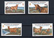 Guernsey 1980 Golden Goats MNH set