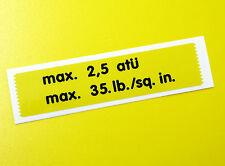Vw style vintage rondelle bouteille réservoir jaune sticker decal volkswagen ghia