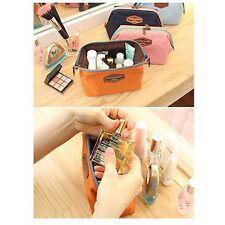 Organizer Purse Clutch Toiletry Bag Makeup Pouch Handbag Travel Cosmetic Case