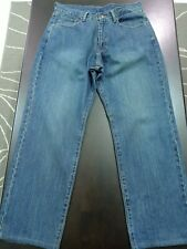 denim jeans prussian blue #003151 w34 × l40 new old stock nos high quality