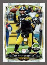 2014 Topps Power Players Football #PP-73 Ben Roethlisberger Pittsburgh Steelers