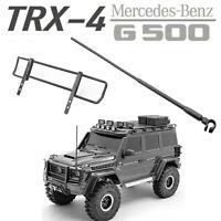 Front Lever Antenna Upper Bumper for Cchand Traxxas TRX-4 TRX-6 4X4 6X6 G500 G63