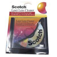 🔴 3M Scotch CD And DVD Laser Lens Cleaner AV101B Rare (2000) - New - Sealed