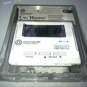 Southwestern Bell Freedom Phone Caller ID FM116 W WHITE | Jumbo Display