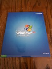 Microsoft Windows XP Professional, Upgrade, With Product Key Version 2002