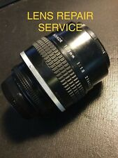 Repair service: Nikon NIKKOR 105mm f/1.8 Ai-S Lens Cleaning and Relubrication