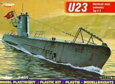 U-boot u 23 type ii b-ww ii sous-marin allemand 1/400 mirage rare!