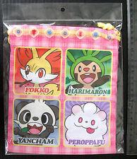 Pokemon XY Dice Bag (M) Chespin Fennekin Froakie and Friends Pokemon Center