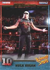 TNA Hulk Hogan Immortal #114 2012 TENacious Short Print Insert Card SN 76 of 100