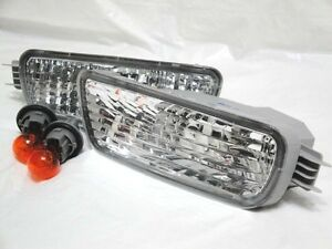 Front Bumper Corner Turn Signal Park Light Lamps One Pair Fit 2001-2004 Tacoma
