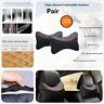 Car Seat Head Neck Rest Ice silk Cushion Pad Headrest Ice Silk Leather Pillows