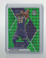 2019/20 Panini Mosaic Reactive BLUE Lebron James Parallel Card #8 MVP LBJ LAKERS