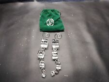 Christmas Ornaments  Hand Crafted  2008 Snowflake  Things Remembered Pouch decor