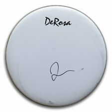"Taylor Hawkins Signed Autographed 12"" Drumhead Foo Fighters Drummer JSA U89063"