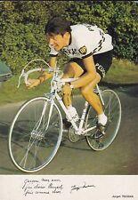 CYCLISME carte cycliste JURGEN TSCHAN équipe PEUGEOT- BP- MICHELIN