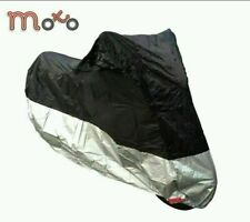 MOTORCYCLE SCOOTER WATERPROOF MOTORBIKE PULL OVER RAIN COVER SIZE M