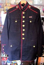 Korean War USMC Marine Corps Dress Blues Uniform Jacket Pants Gloves belt +