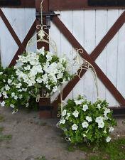Hängekorb Set Metall Blumenampel Nostalgie Korb Pflanzen Blumenkorb Antik Antik