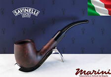 Pipa Pipe Capitol Bruyere by Savinelli radica verniciata scura curva 603